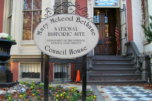 DC's new hottest new tourist destinations - Mary McLeod Bethune Council House National Historic Site
