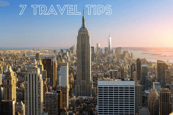 Seven travel tips to ensure a happy and healthy trip