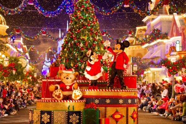How to celebrate Christmas in the city - Orlando, Florida