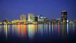 Norfolk, VA, is home to the largest naval station in the world.