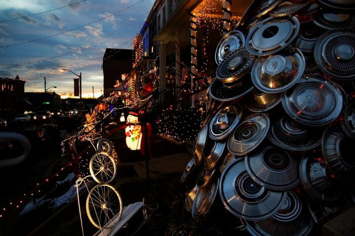 Baltimore has one of the most impressive lighting displays at the Miracle on 34th Street spectacle. (Source; Flickr, Mark Peters)
