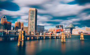 Baltimore's Inner Harbor is famed for its crab fishing.