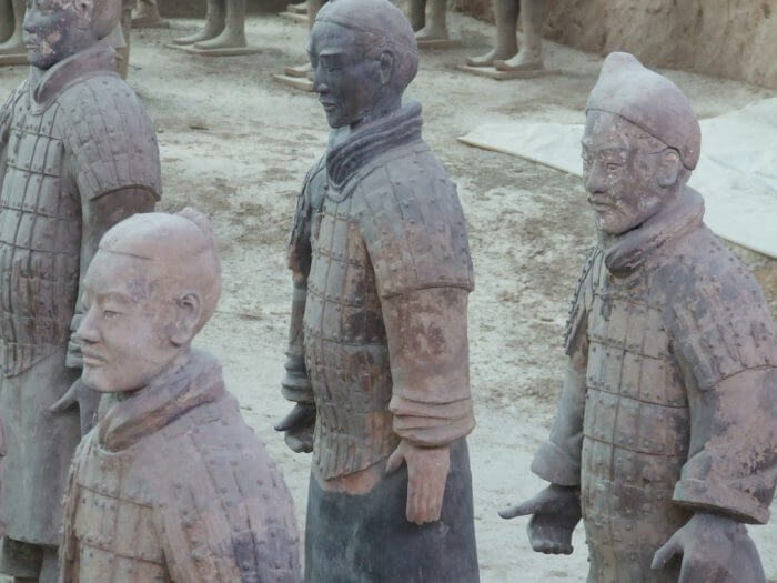 The Terracotta Army of Emperor Xi'an. (Source: Flickr, Robin)