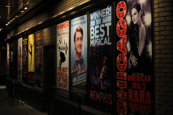 Endless shows are available on Broadway at any given time. (Source: Flickr, Broadway Tours)