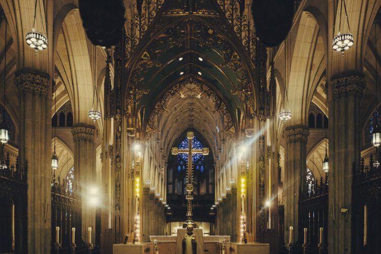 St. Patrick's Cathedral is a religious center of New York. (Source: Jörg Schubert, Flickr)