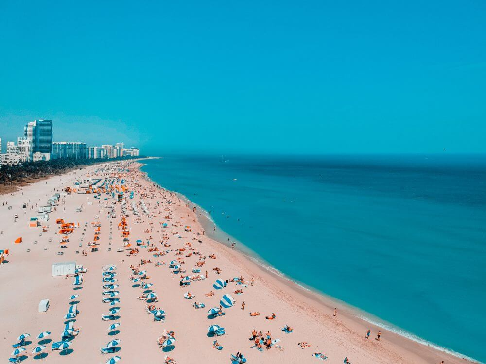 Miami Beach is one of the nation's most revered beaches (Photo Credit: Guzman Barquin)